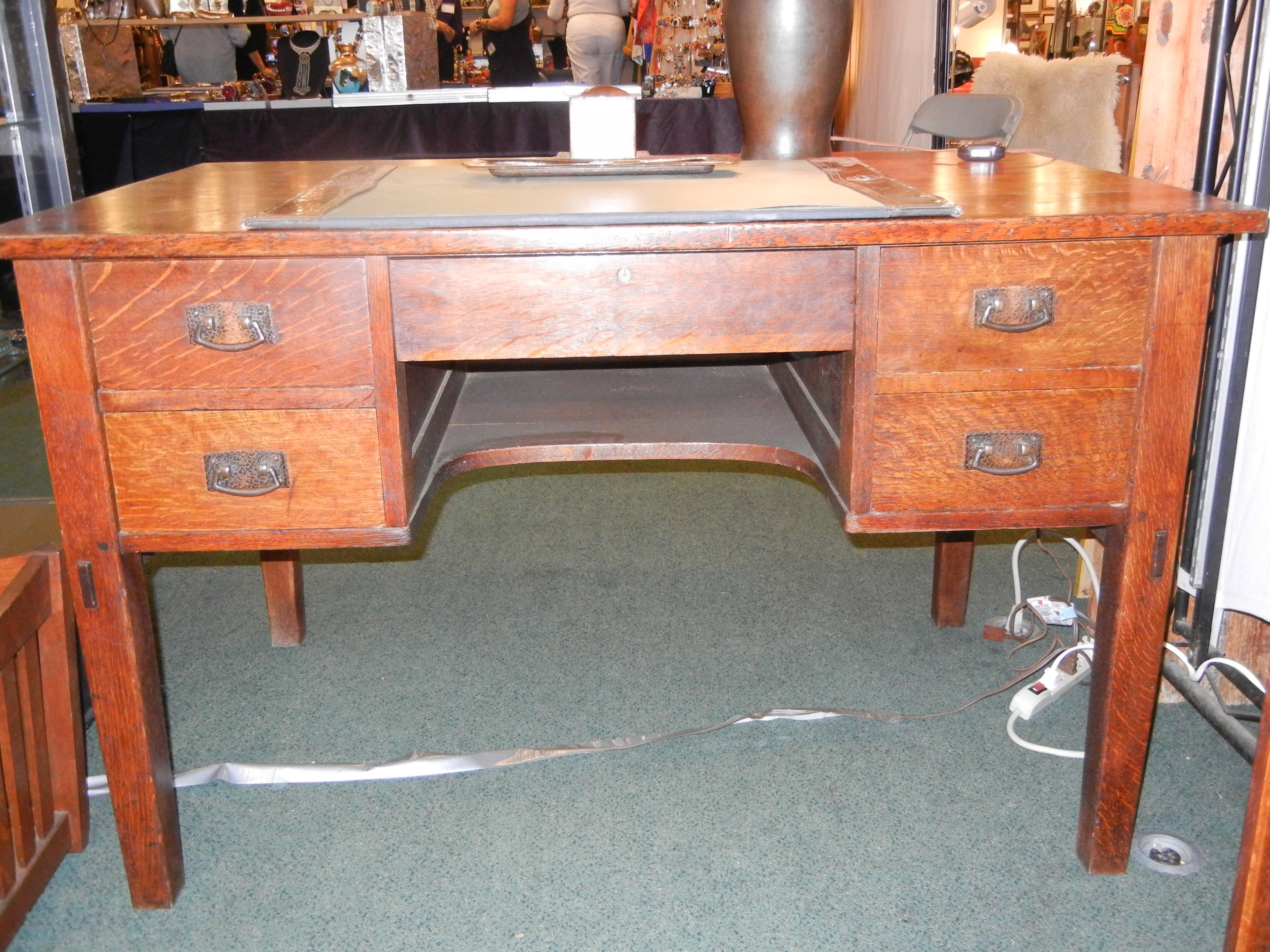 side craftsman by matthew blacker house furniture mission gallery styled style arts stickley inspired table desk crafts morris