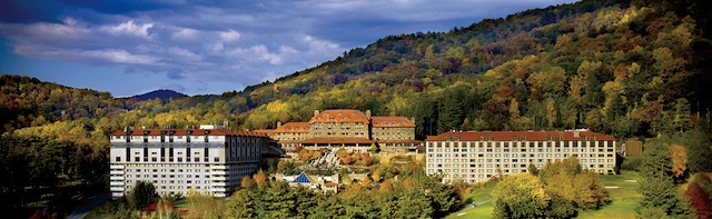 Grove Park Inn-Beautiful location of the February Arts & Crafts Conference in Asheville