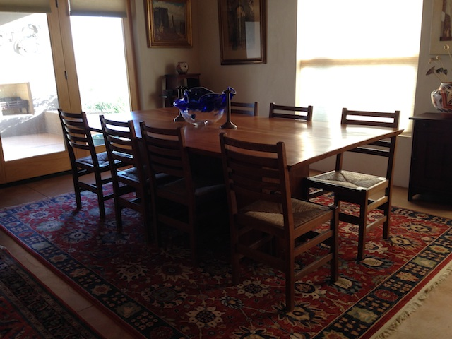 l jg stickley dining room chairs
