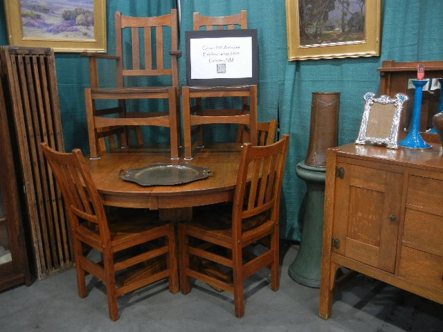 STICKLEY BROTHERS COMPLETE DINING ROOM SET